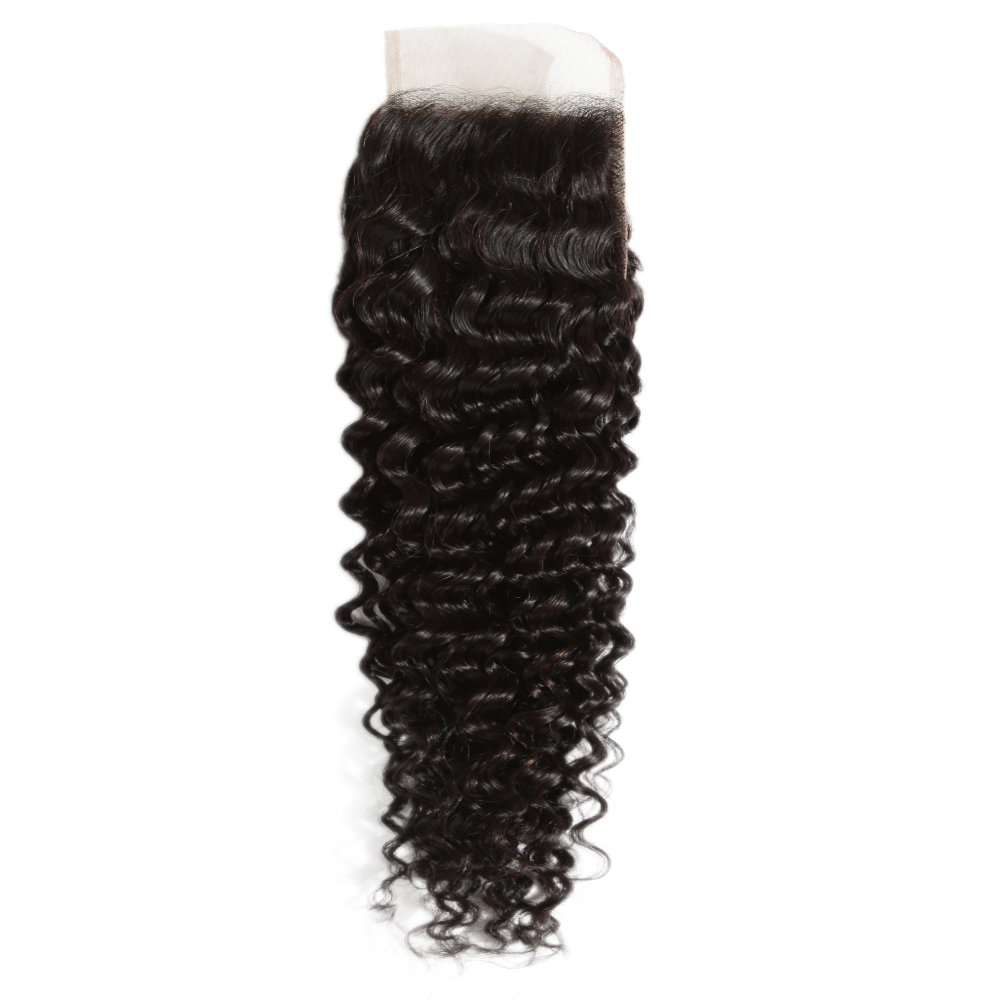 Virgin Remy Kinky Curly Closure 4X4