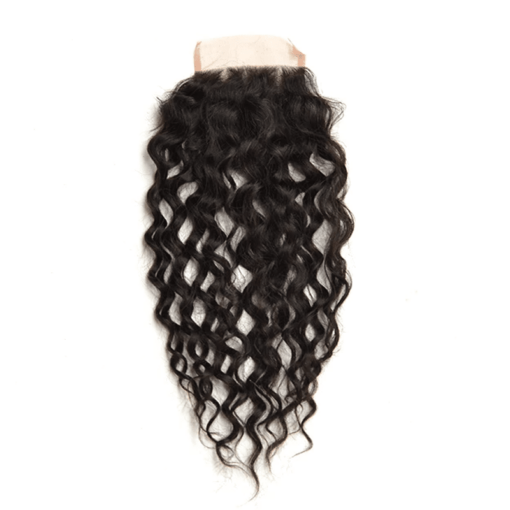 Water Wave Pre-plucked Lace Closure 4''x 4'': Boss Price