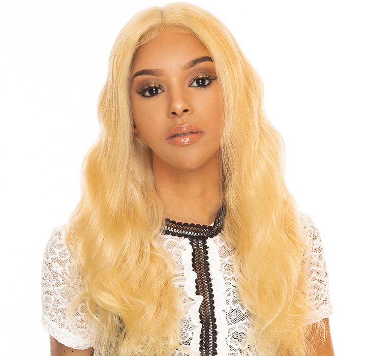 """QVR Full Lace Wig REBECCA 18""""-Blonde"""