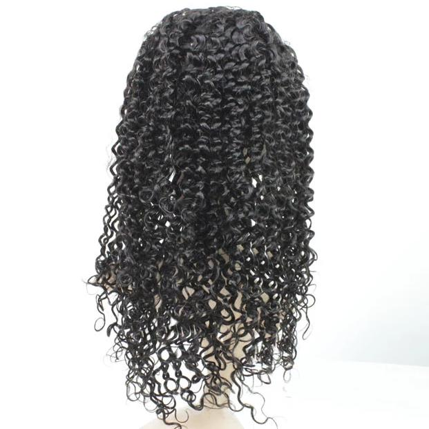 Full Lace Human Wig Kinky Curly: Pre-Plucked: Boss Price